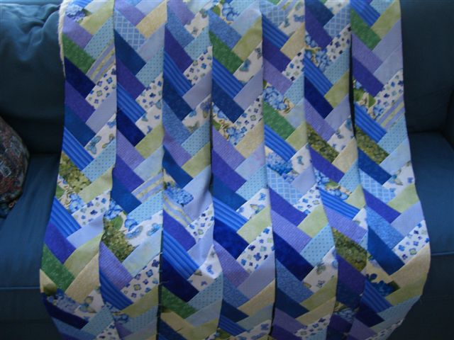 Ocean Waves Quilts Friendship Braid Quilt
