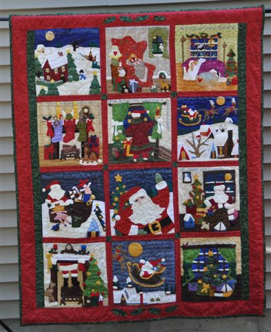 Ocean Waves Quilts: Twas the Night Before Christmas Quilt ...