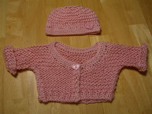 Ocean Waves Quilts American Girl Doll Knitted Sweaters