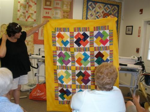 Lisa's Card Trick Quilt