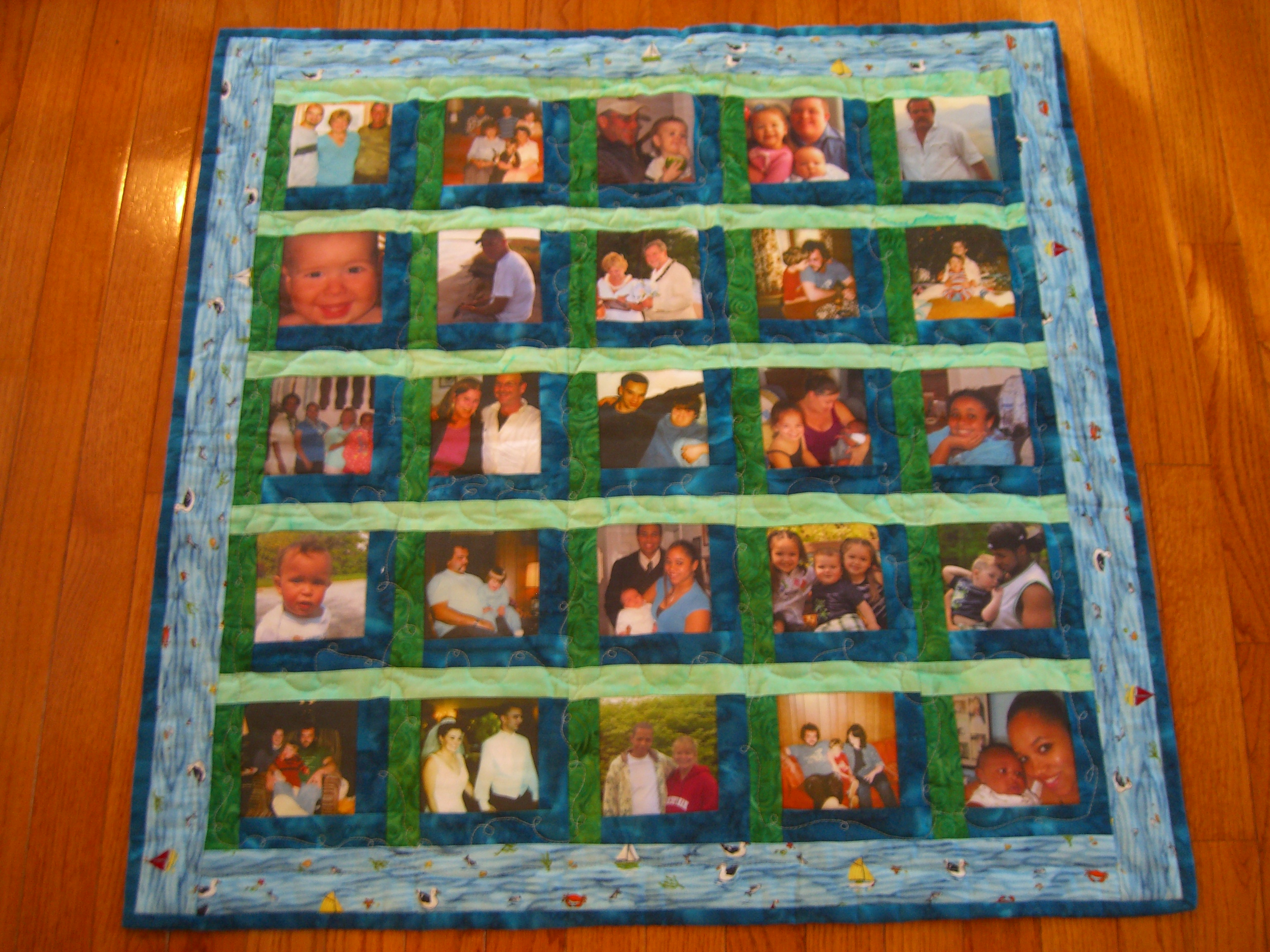 Ocean Waves Quilts: Another family quilt.... : family quilts - Adamdwight.com